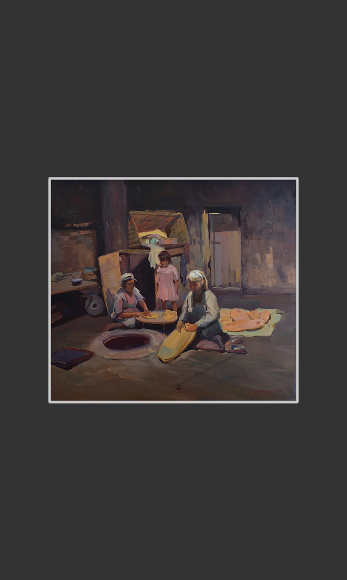 Lavash (bread) bakers