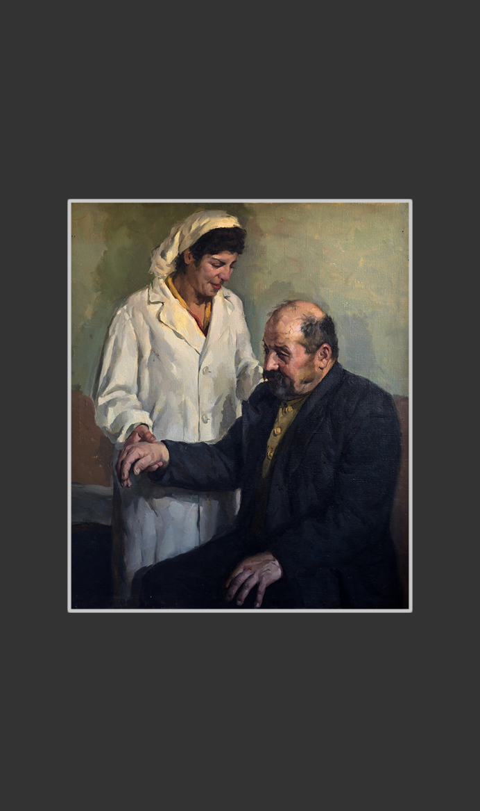 At doctor (study work)