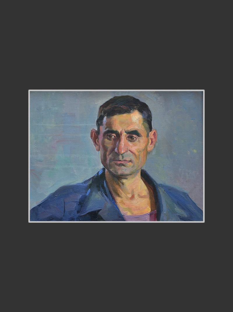 Portrait of Geghamyan