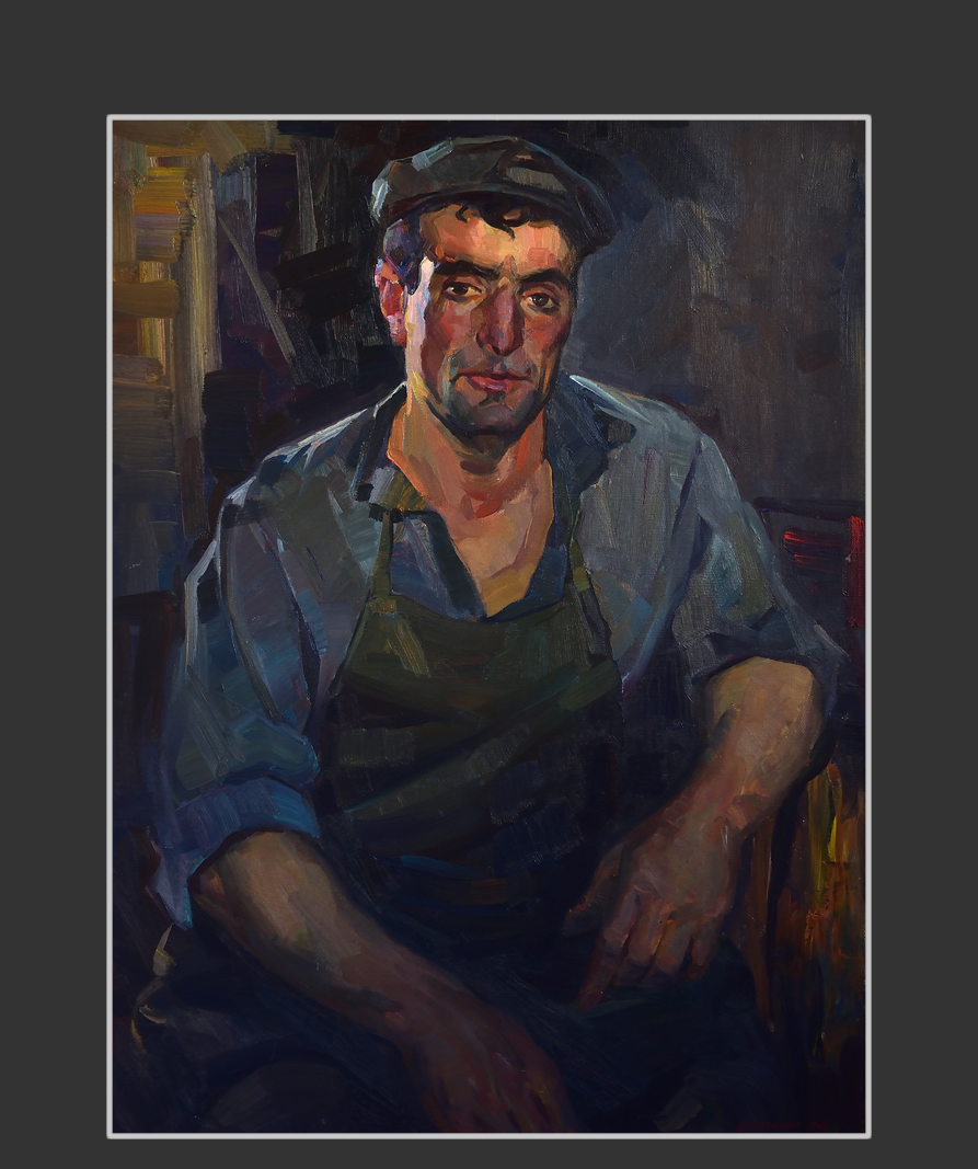 Portrait of blacksmith Sianos Avetisyan