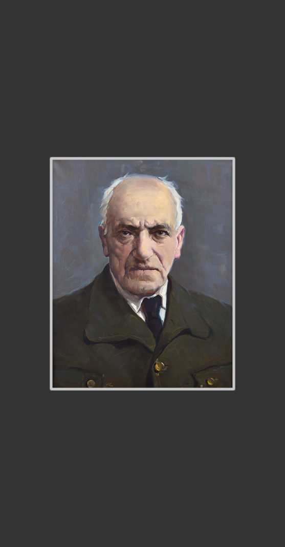 Portrait of the father
