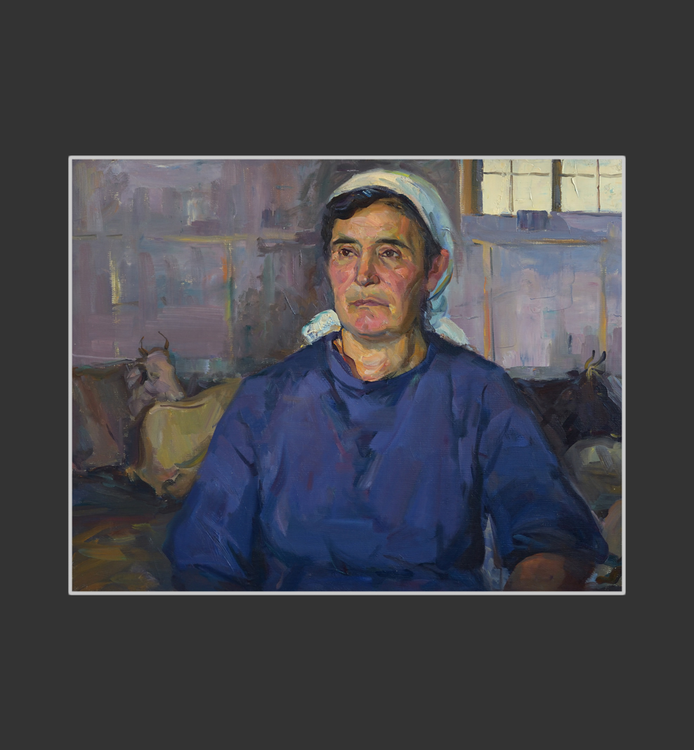 Portrait of a dairymaid
