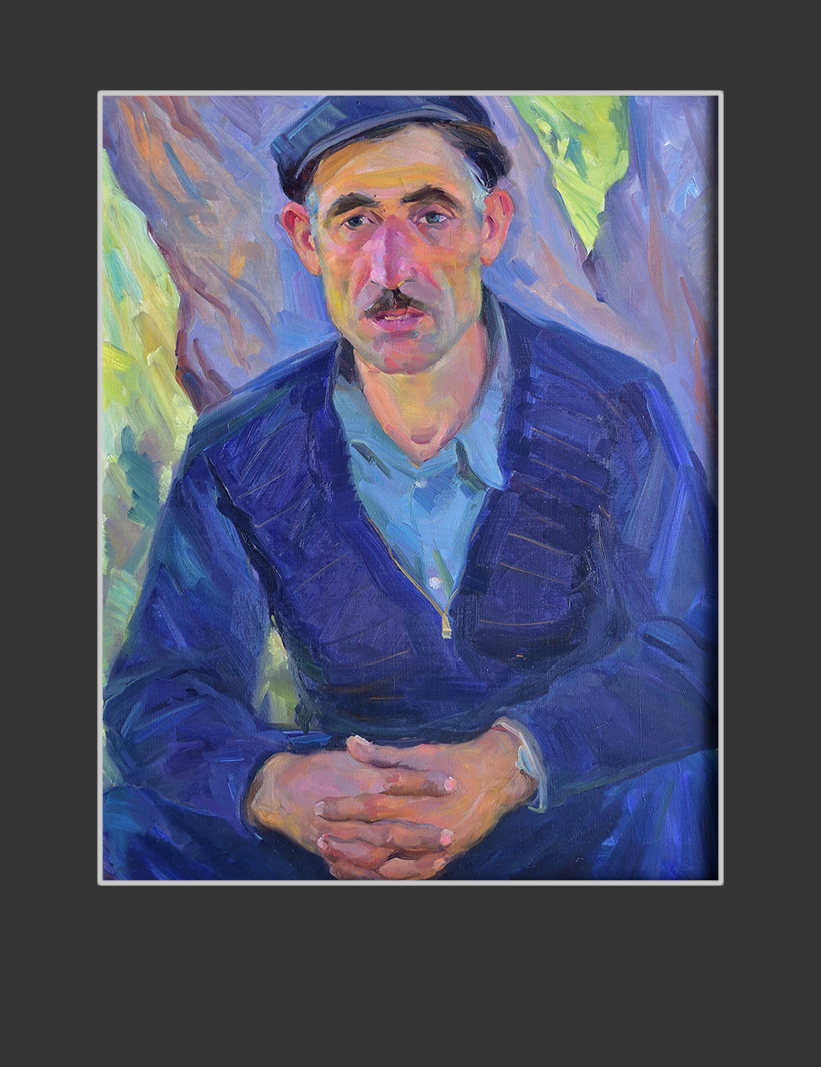 Portrait of a worker Momjyan