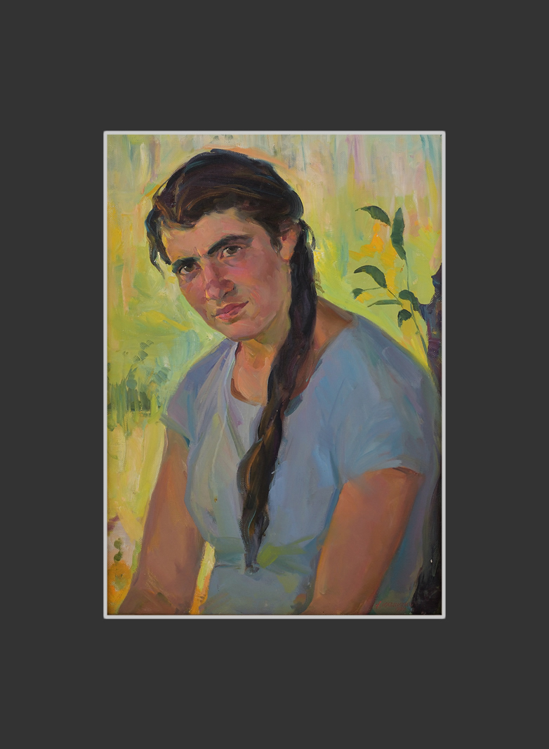 Portrait of the 3rd state farm worker Tamara Hovhannesyan