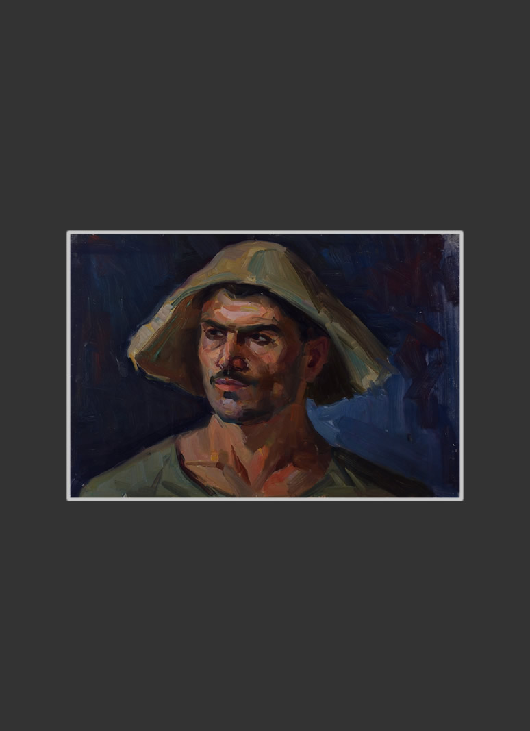 Portrait of a worker of Alaverdi Factory